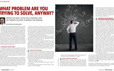 Marketers: What Problem Are You Trying To Solve?