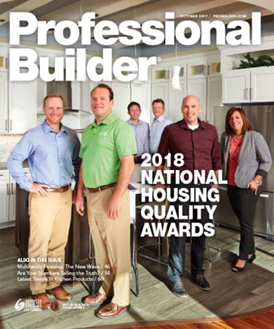 Professional Builder Magazine - October 2017