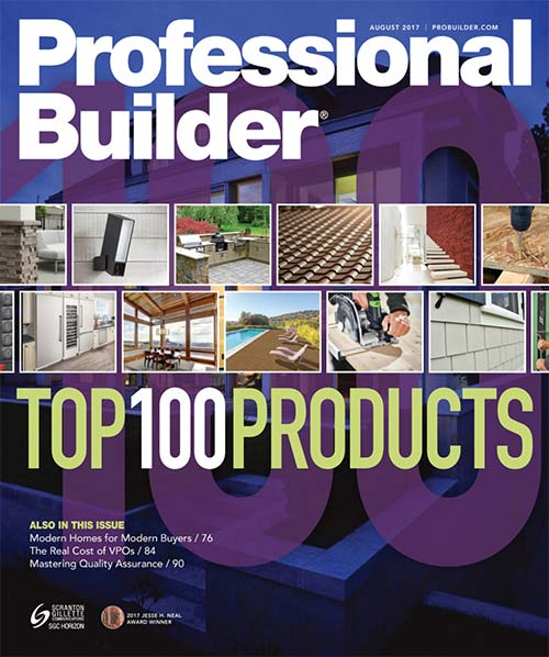 Professional Builder Magazine - August 2017