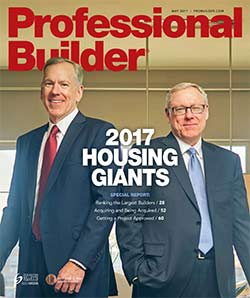 Professional Builder Magazine - May 2017
