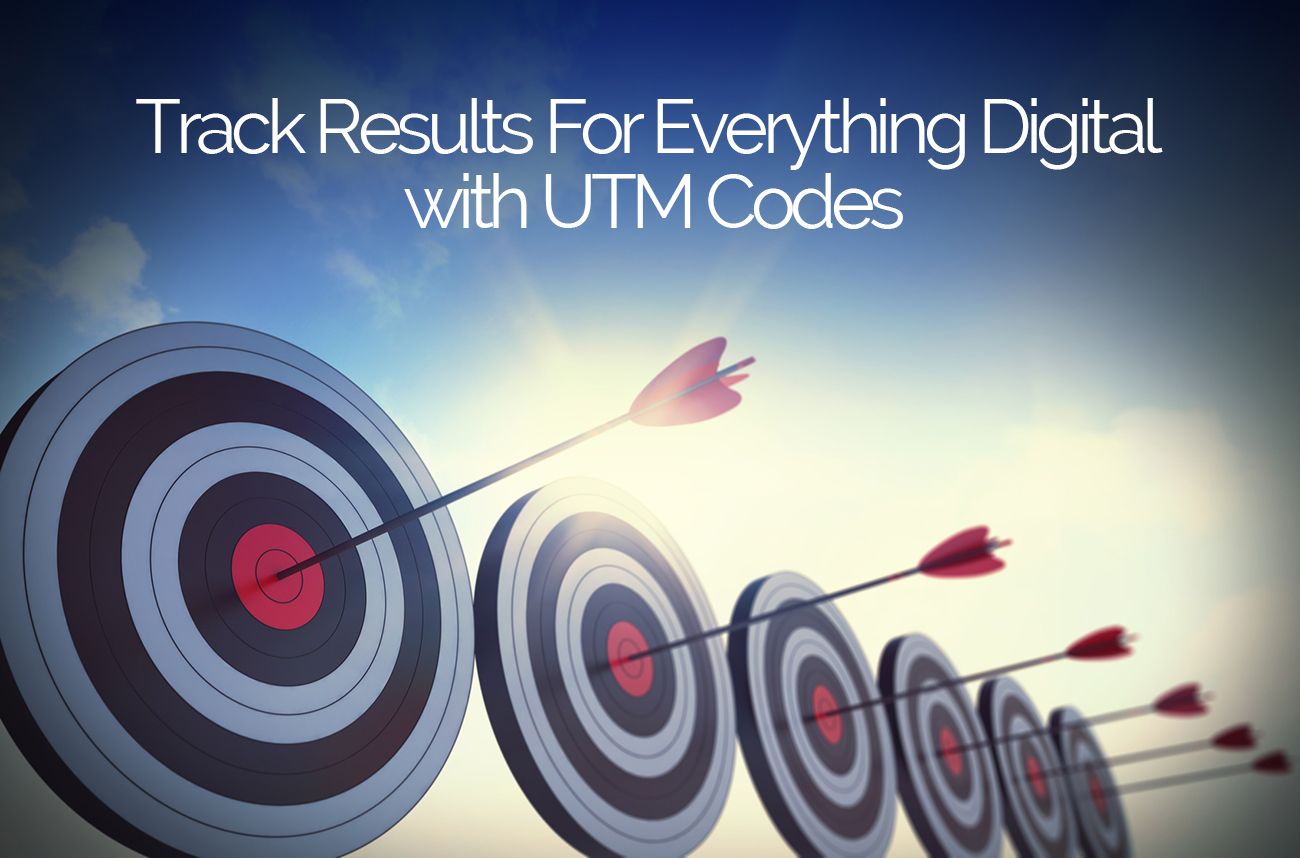 Track Results For Everything Digital with UTM Codes