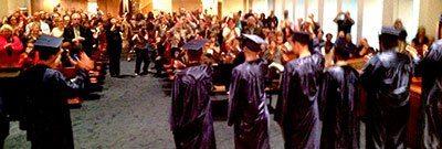 Graduates from Wesley Spectrum
