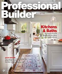 Professional Builder Magazine - April 2016