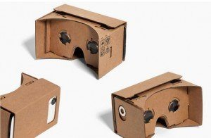 Google Cardboard allows you to use your phone as the VR device - for $25.