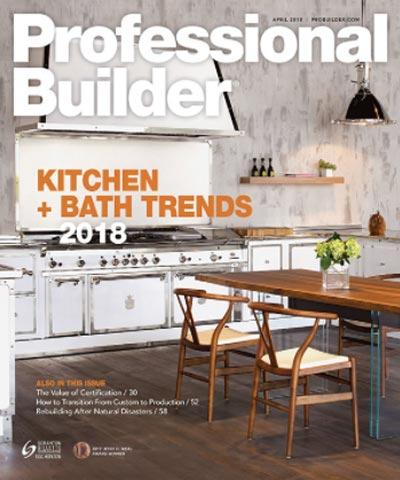 Professional Builder Magazine - April 2018