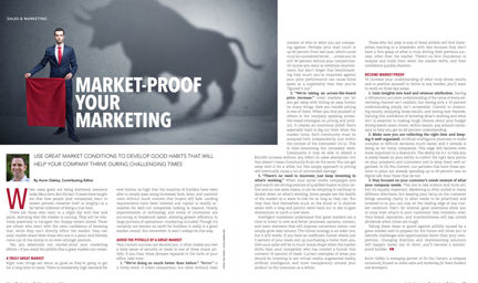 Tips for Market-Proofing Your Marketing