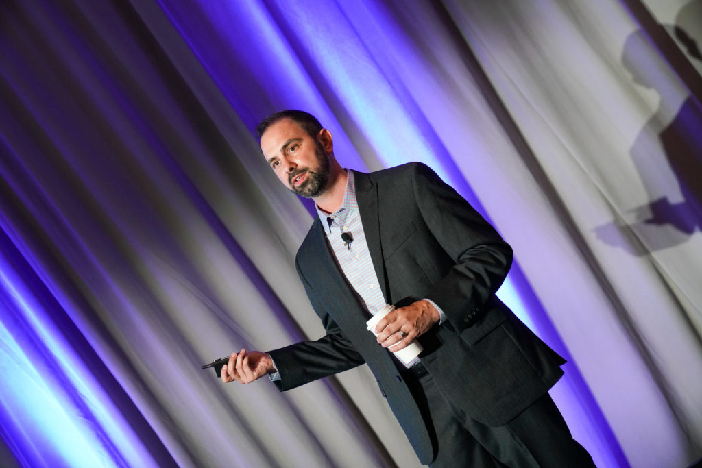 Kevin Oakley at the 2019 Online Summit