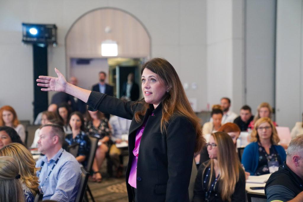 Jen Barkan at the 2019 Online Summit